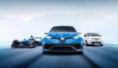Derivata dagli sviluppi della monoposto di FormulaE, la Renault Zoe e-sport-concept è pronta per scendere in pista
