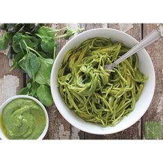 One of my favorite gluten free pasta recipes from my blog, Spinach Basil Pesto, honestly I can't get enough of this stuff. I love adding hem...