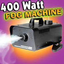 400 watt fog machine city