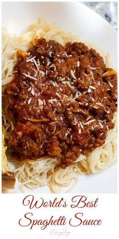 World's Best Spaghetti Sauce Recipe on Yummly