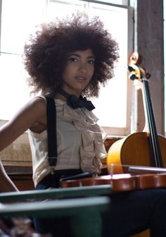 Esperanza: Awesome Bassist, Great Vocalist, Beautiful writer, so young and so accomplished.