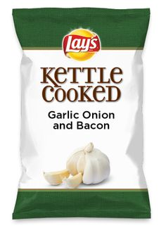 Wouldn't Garlic Onion and Bacon be yummy as a chip? Lay's Do Us A Flavor is back, and the search is on for the yummiest flavor idea. Create a flavor, choose a chip and you could win $1 million! https://www.dousaflavor.com See Rules.