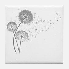 Dandelion Wishes Tile Coaster for
