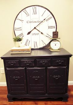Step by step to make this large wall clock