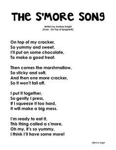 Camp songs lyrics for kids