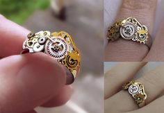 Great steampunk ring!