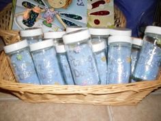 Homemade pixie dust #tinkerbell #parties #fairy