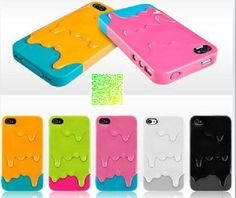 Melting ice cream iphone 5 case/iphone 4 s case by Charmgiftshop, $8.99