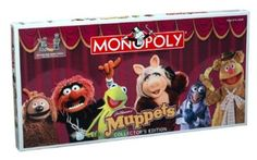 Muppets Collector's Edition Monopoly Board Game