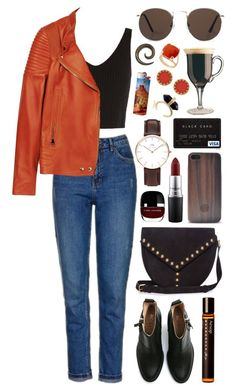 Untitled #402 by clary94 on Polyvore featuring Exclusive for Intermix, Givenchy, Topshop, Acne Studios, Yves Saint Laurent, Daniel Wellington, House of Harlow 1960, MANGO, MAC Cosmetics and Aesop