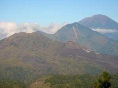 Monut Batur - Mount Abang - Mount Agung