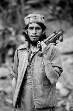 A fighter with the Afghan Mujaheddin. (Steve McCurry)