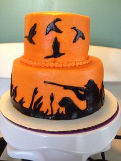 Duck hunter cake   Hunters 3rd Birthday ideas   Pinterest ...