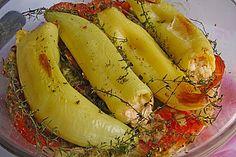 Türkische Paprika aus dem Backofen - sehr knackig (Rezept mit Bild) | Chefkoch.de