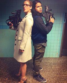 Emily & Carlos - Crossover Episode - BTS