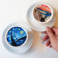 Here's How a Korean Barista Is Turning Lattes Into Frothy Versions of Iconic Artworks | artnet News