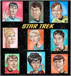 Star Trek TOS ~ Entire Cast Revised by adavis57 on DeviantArt