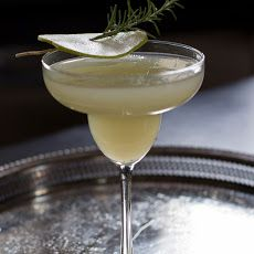 anjou pear and rosemary margarita - had this the other night and need to recreate!