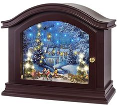 Amazing offer on Mr. Christmas 36374 Mantel Christmas Music Box Holiday Decoration, One Size, Multi online - Thepopbeautiful Christmas Music Box, Mr Christmas, Christmas Mantels, Christmas Decorations, Holiday Decor, Van Gogh Almond Blossom, Wooden Mantel, Memorial Urns, Reclaimed Wood Wall Art