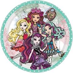 Ever After High 9 Lunch Plates (8 Count) by Amscan: Amazon.it: Giochi e giocattoli