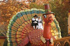 This giant turkey has scary eyes!