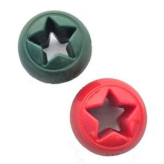 Nook Orbee Tuff Interactive Dog Toy  Holiday Star Red * Want additional info? Click on the image.(This is an Amazon affiliate link and I receive a commission for the sales)
