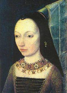 Margaret of York, ca. 1467  (Unknown Artist)    Musée du Louvre, Paris