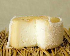 Azietao - Portuguese cow's milk thistle rennet cheese.