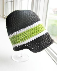 baby boy crochet hat @Linda Bruinenberg shook