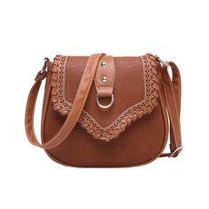 Retro Leather Crossbody Shoulder Bag
