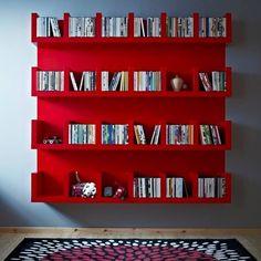 Bibliothèque color zoning - L'étagère IKEA LACK avec 6 casiers !