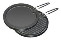 Magma Products Aluminum Reversible Griddle/Grill Pan with Teflon Non Stick Coating (11-1/2-Inch) Table Top Grill, Grill Pan, Griddle Grill, Indoor Grill, Teppanyaki, Griddles, Grilling, Round Kitchen, Kitchen Dining