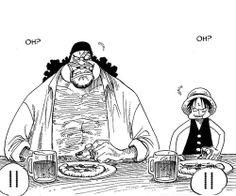 Luffy meets Blackbeard   One Piece