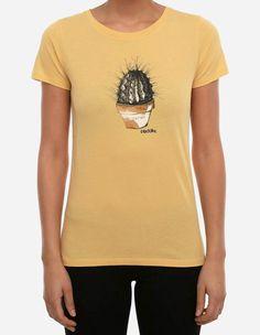 iriedaily - Spikey Tee yellow