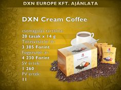 Cream kávé Coffee Cream, Cream Cream, Container