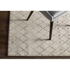 "Wayfair Laurel Foundry gray rug, 6'7""x9', $140"