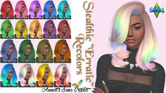 Stealthic Erratic Recolors at Annett's Sims 4 Welt via Sims 4 Updates