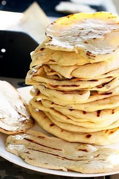 Buttery Grilled Naan