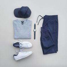 Essentials by silverfox_collective #mensoutfitsideas