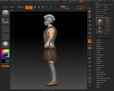 Illyrian soldier WIP