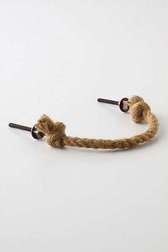 Anthropologie - Pliant Rope Handle (diy ocean themed bathroom)