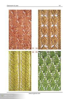 Crochet Stitches With Holes : ... ) sur Pinterest Points au crochet, Grille de crochet et Crochet
