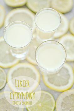 Likier cytrynowy - przepis