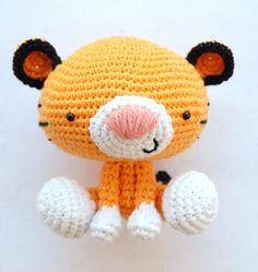Amigurumi Crochet PDF Pattern Roary the Tiger by amorningcupofjo Crochet Amigurumi, Amigurumi Doll, Amigurumi Patterns, Crochet Dolls, Crochet Patterns, Cute Crochet, Crochet Crafts, Crochet Projects, Knit Crochet