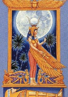 Goddess Isis - goddess of healing, love, fertility, and magic :)
