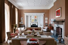 How to use Brown in Interiors - Why brown is the new grey (houseandgarden.co.uk)