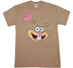 Spongebob: Sandy Cheeks T-Shirt | AnimationShops.com