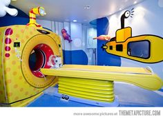 Hospital for kids in Brazil…I wanna work in a hospital like this!!