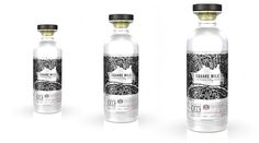 Square Mile London Dry Gin on Packaging of the World - Creative Package Design Gallery Glass Packaging, Product Packaging, London Dry Gin, Bottle Design, Packaging Design Inspiration, Glass Bottles, Typography Design, Vodka Bottle, Liquor