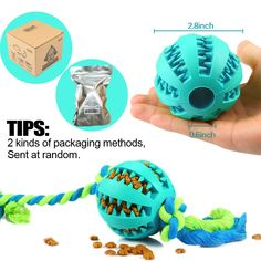 Teeth Cleaning Chew Training Toys Small Dogs Rubber Bite Resistance Dog Toy DM